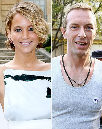 """Chris Martin Has """"Fallen in Love"""" With Jennifer Lawrence - Oh this makes me happy!"""