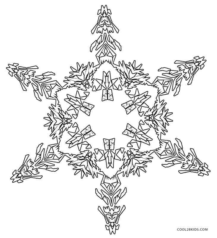 45 best Snowflakes images on Pinterest   Children coloring pages ...