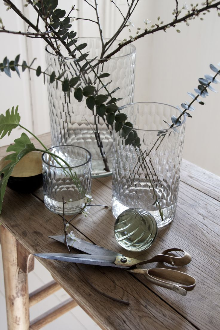 Faceted glass vases - Engen & Engen SS15 - Photo Heidi Hallingstad