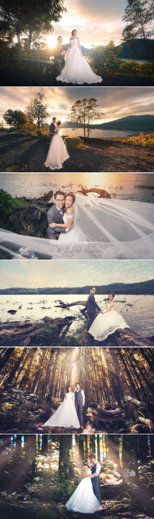 Prewedding photo session in the woods of Kintamani // Pat Law Photography // http://www.onethreeonefour.com/listing/PatLawPhotography/559e975ac75a109b414725e9