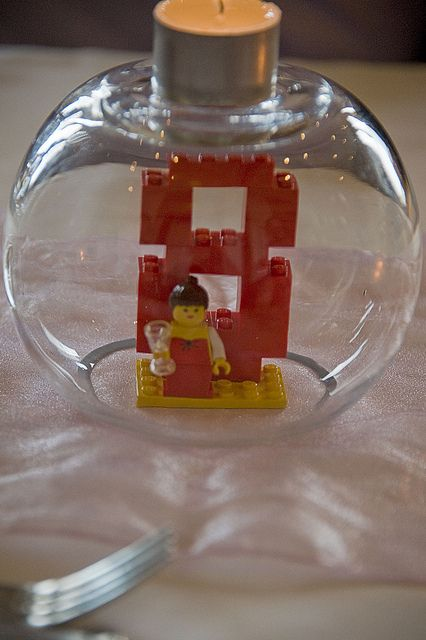 Lego table number 8 by magw21, via Flickr