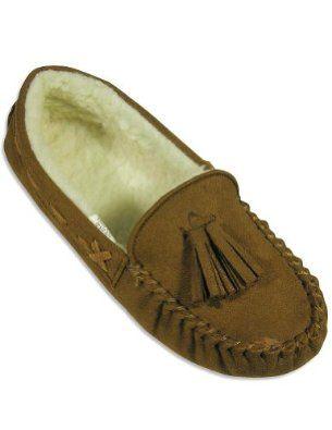 Private Label - Ladies Moccasin Slipper, Brown 24995-S5-6 Private Label. $7.90