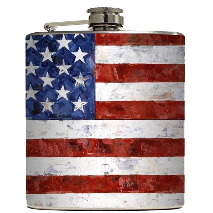 Purple Leopard Boutique - Old Glory Liquid Courage Stainless Steel Flask Alcohol Wedding Party Drinking, $24.00 (http://www.purpleleopardboutique.com/old-glory-liquid-courage-stainless-steel-flask-alcohol-wedding-party-drinking/)