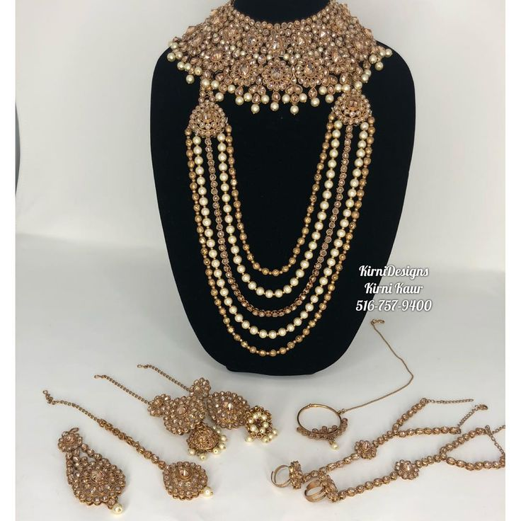Kirni Kaur Hicksville Ny On Instagram Complete Set In Stock 450 Jewelry Statement Necklace Necklace