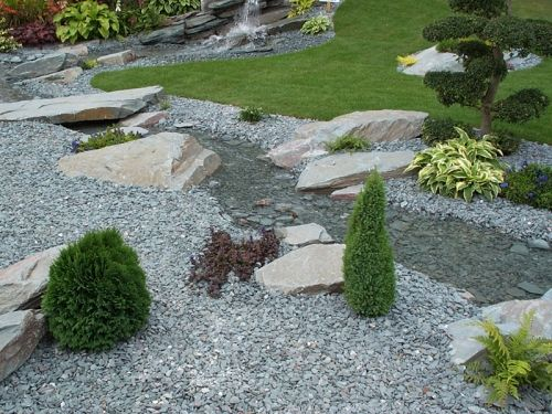 Green Slate Chippings 20mm Decorative Aggregates Home