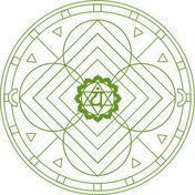Mandala de Chakra Anahata Dibujo para colorear