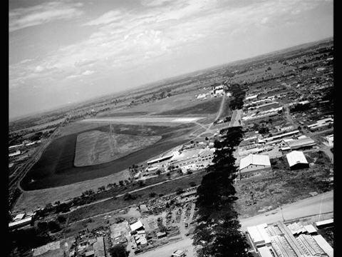 Cabecera de la Pista de la Base Aérea Marco fidel Suaréz. Aixamar López FOTOS ANTIGUAS SANTIAGO DE CALI