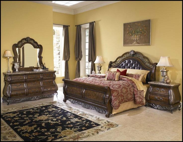 King Size Bedroom Sets Under 500 king size sleigh bedroom sets | pulaski birkhaven queen sleigh