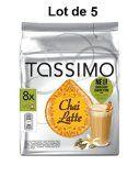 Lot de 5 boites Tassimo Chai Latte T-Discs (40 capsules en tout) chai the latte