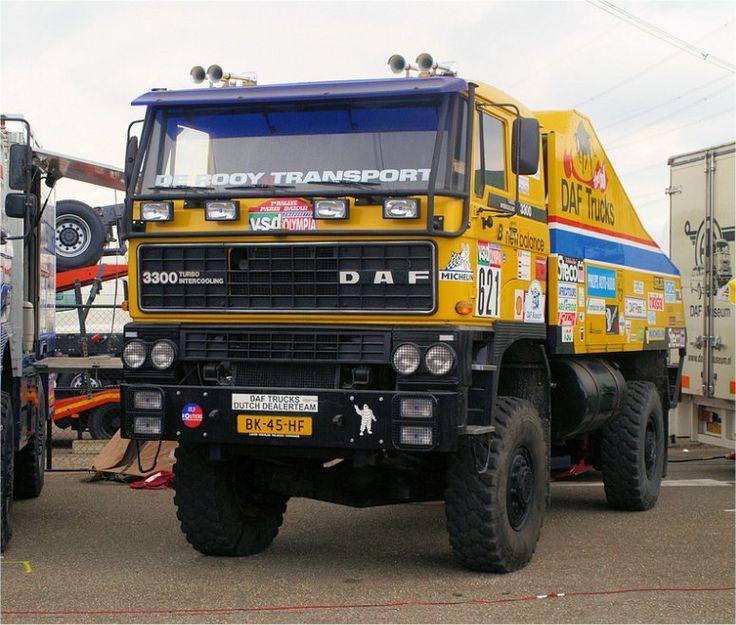 Daf Truck, The Bull, Parijs-Dakar