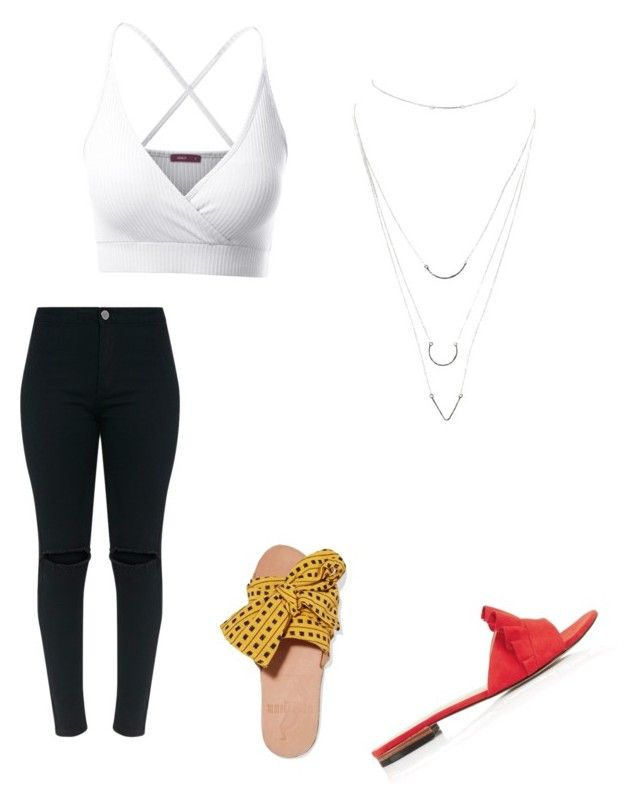 """""""Untitled #8"""" by abeer111 on Polyvore featuring Doublju, Brother Vellies, Karen Millen and Charlotte Russe"""