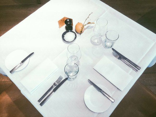Uncomplicated, elegant and with a purity of materials. Spring Restaurant, London. #davidmellor #odeon #cutlery #springrestaurant