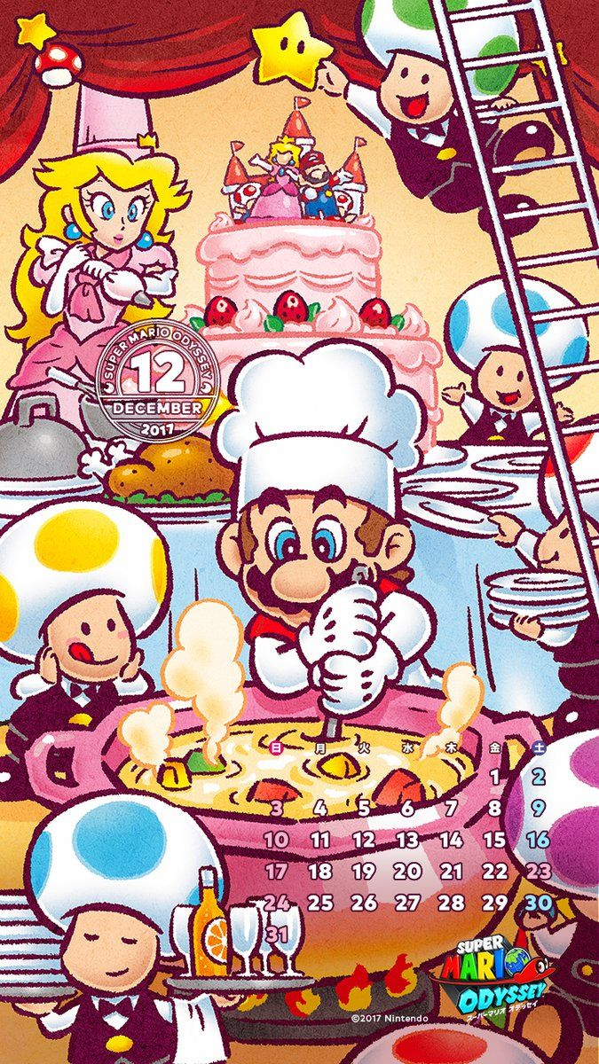 Nintendo Celebrates The Start Of December With New Super Mario
