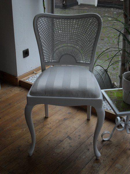 Stühle - Stuhl Holz Shabby Weiß Chippendale Edel - ein Designerstück von Die-Ideenschmiede bei DaWanda
