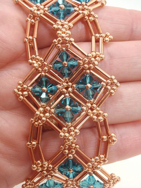 Cecilia Bracelet by njdesigns, via Flickr
