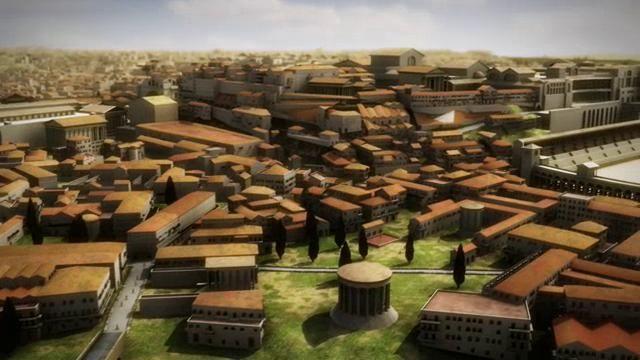 Rome Reborn 2.2: A Tour of Ancient Rome in 320 CE. Video by Bernard Frischer.