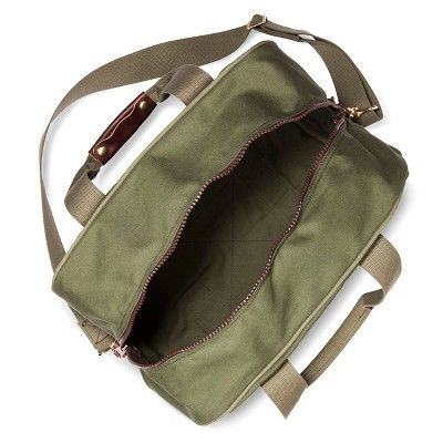 Duluth Pack Small Safari Duffel Bag Olive Drab - One Size, Green