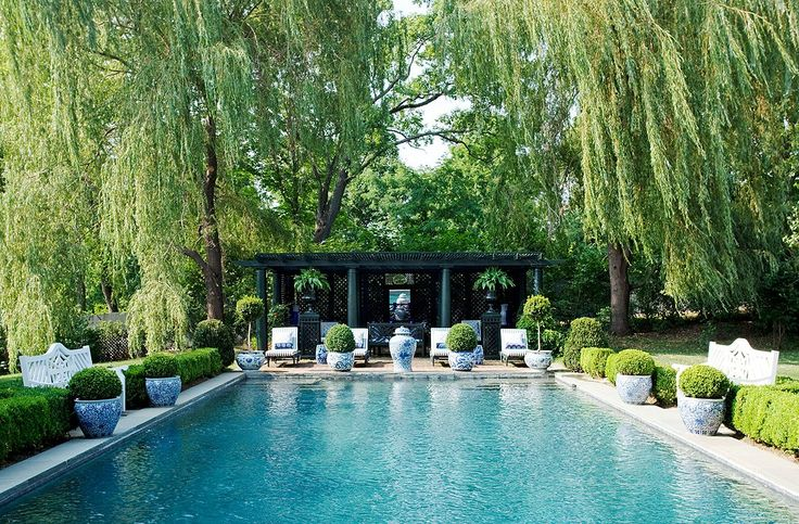 8 Exquisite Pools + Chic Pool Furniture -- One Kings Lane