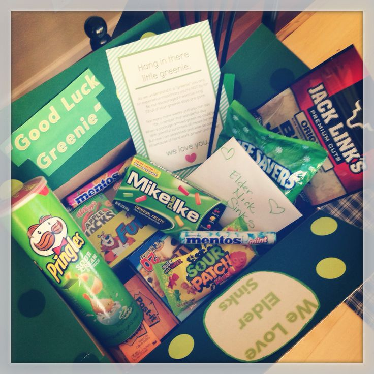 """""""Greenie"""" Missionary Package"""