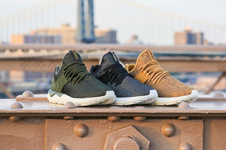 Adidas Tubular Radial Green On Feet