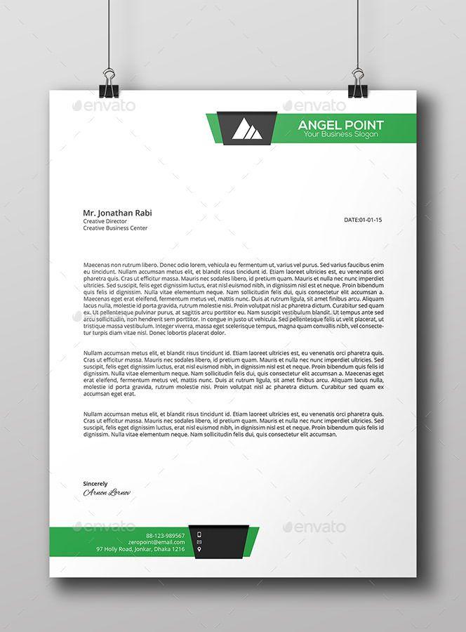 Line Business Letterhead Template Business Line Template