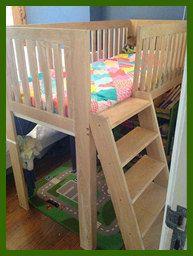 Cama para niños pequeños y niños pequeños por WOODCRAFTSnl en Etsy