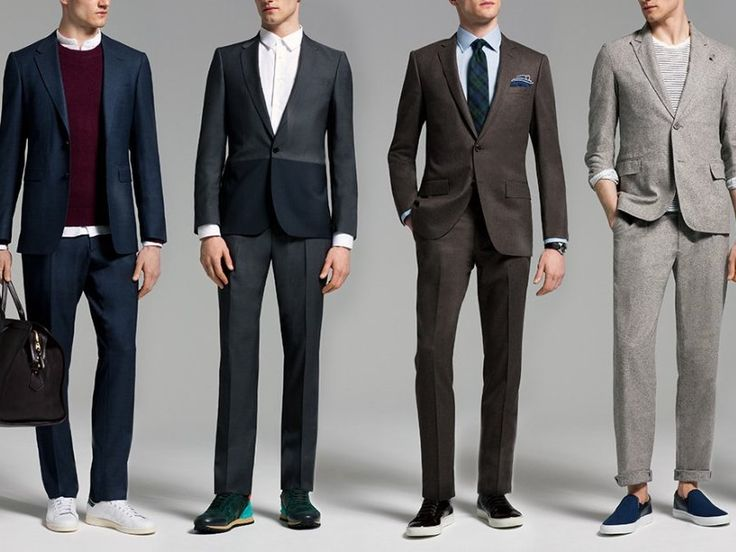 「How to Wear Sneakers with a Suit – Style and How-to | GQ」の画像検索結果