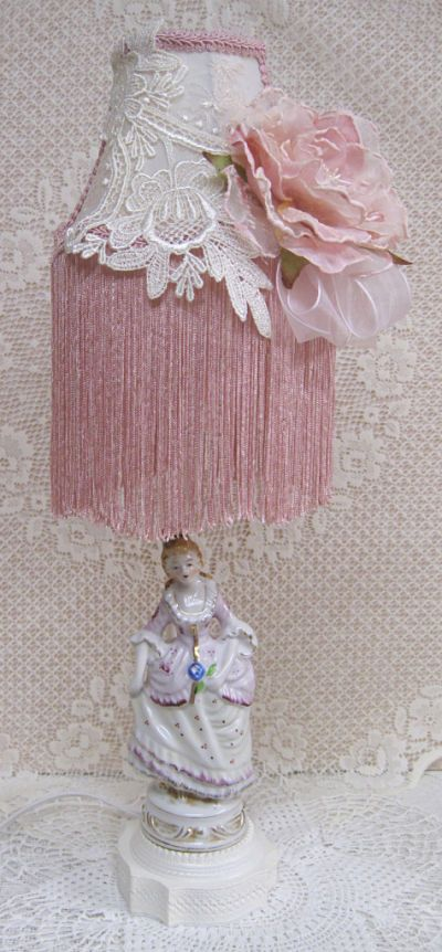 French Lady in Pink-French Lady in Pink Lamp