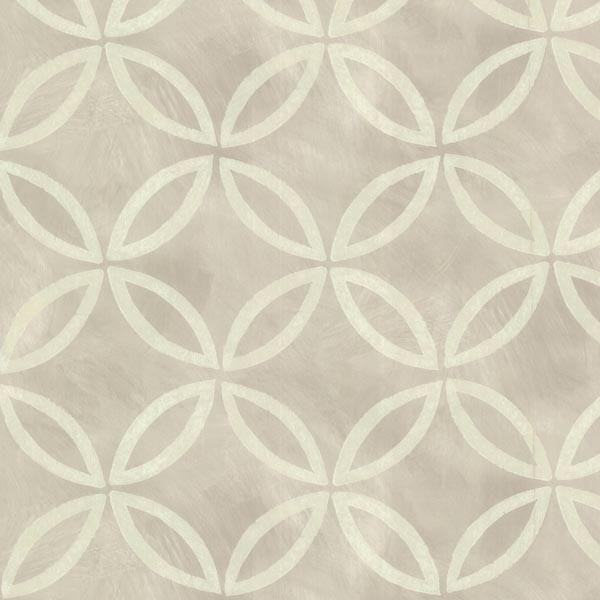 Cloverleaf Grey Geometric Wallpaper – FIFTH + FOSTER