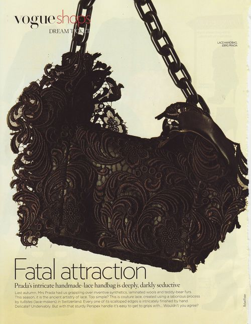 prada / fatal attration UK VOGUE