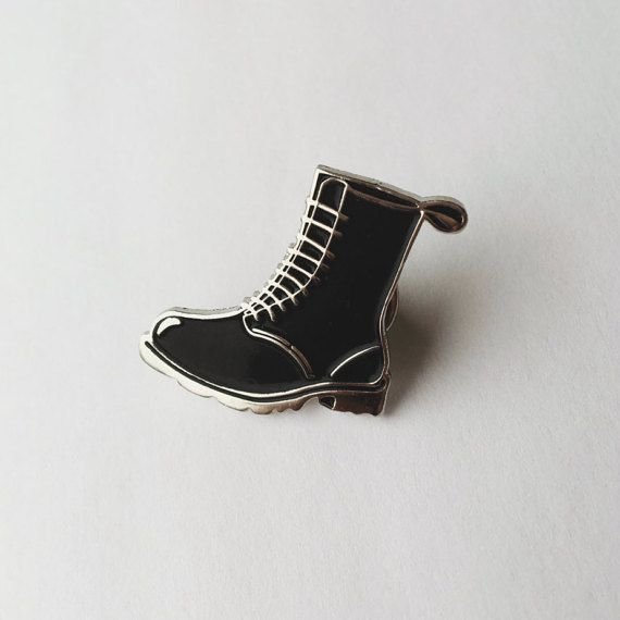 Punk Witch Boot 1 Enamel Pin by SHOPBABECOVEN on Etsy