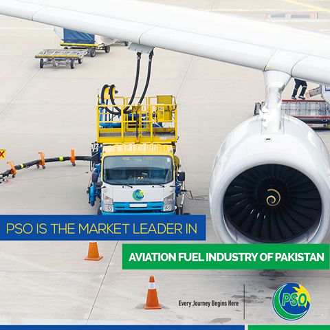 #PSO is currently the market leader in Aviation fuel industry of #Pakistan and has major operations at nine airports throughout Pakistan.