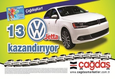 Çağdaş Marketler Çekiliş Kampanyası - Çağdaş Market Volkswagen Jetta Çekilişi  http://www.kampanya-tv.com/2013/06/cagdas-marketler-cekilis-kampanyas.html