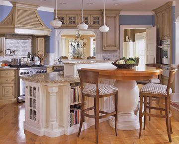 Kitchen Design With Peninsula Cool Best 25 Round Kitchen Island Ideas On Pinterest  Curved Kitchen Review
