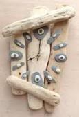 Driftwood Clock