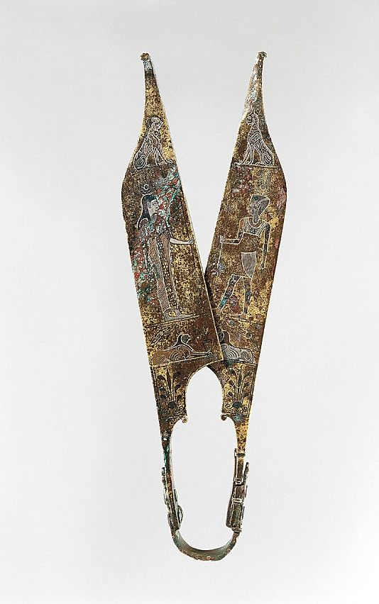 Shears  Period:     Roman Period Date:     A.D. 2nd century perhaps Geography:     Country of Origin Turkey, Anatolia; Possibly from Trabzon
