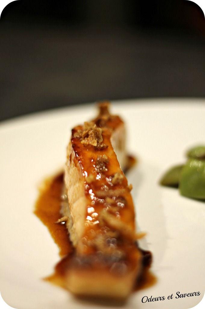 Pavés de saumon laqués au sirop d'érable