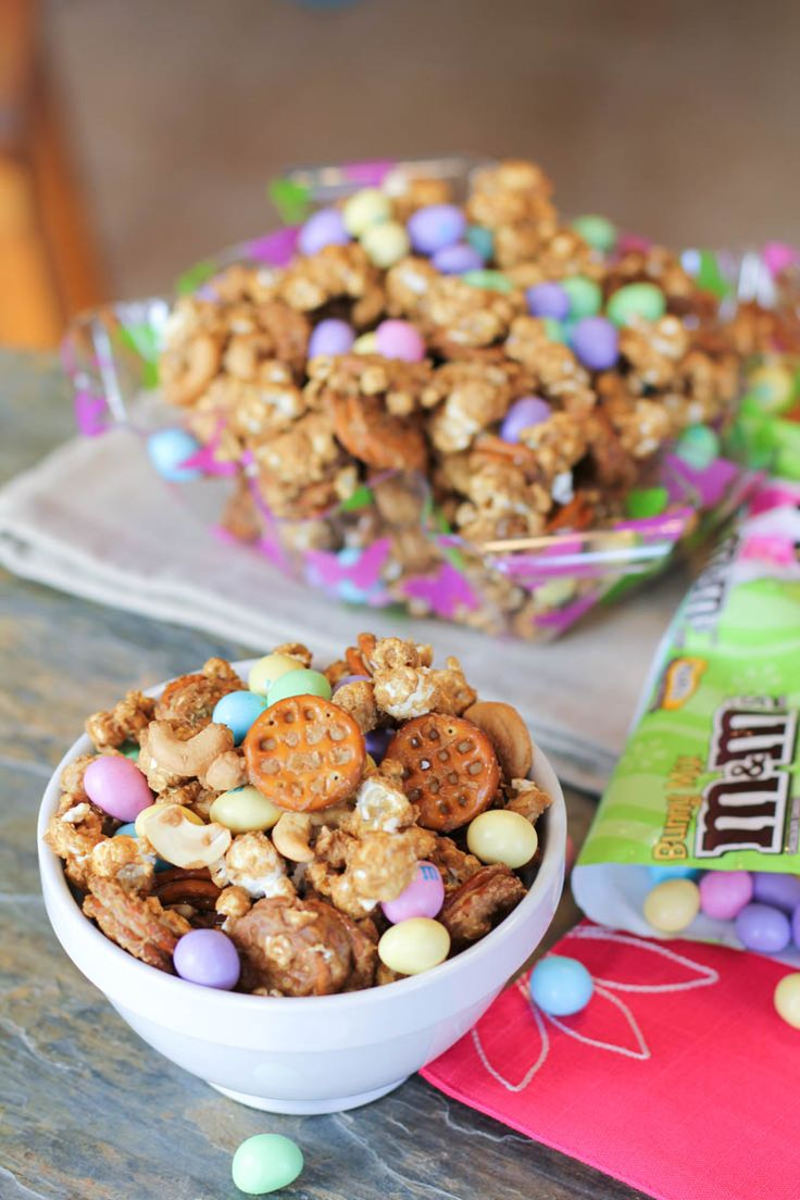 Salted Caramel Easter Popcorn Recipes — Dishmaps