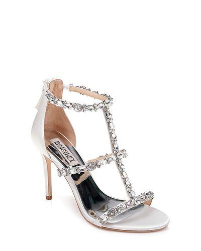 Querida T-Strap Evening Shoe