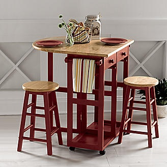 Kitchen Island With Stools For The Home Pinterest Stools Rolling Kitchen Island And Kitchens