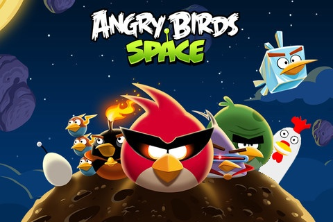 With my angry birds friends
