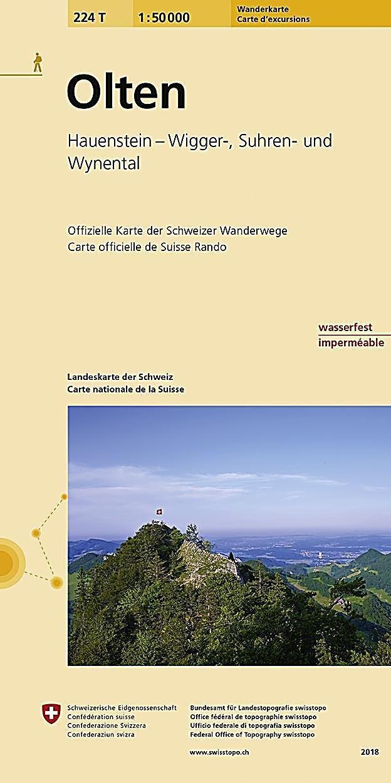 Landeskarte Der Schweiz Olten Karte Im Sinne Von Landkarte