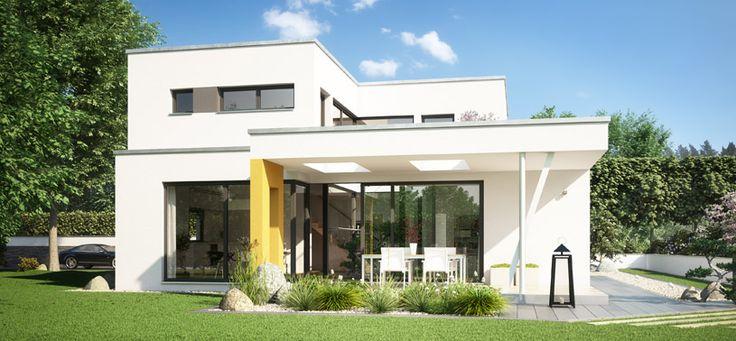 Moderne Architektenhäuser Mit Pool ~ Fertighaus, Architektenhaus, Moderne Architektur  Büdenbender