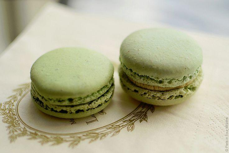 Pistachio Macarons, Laudree
