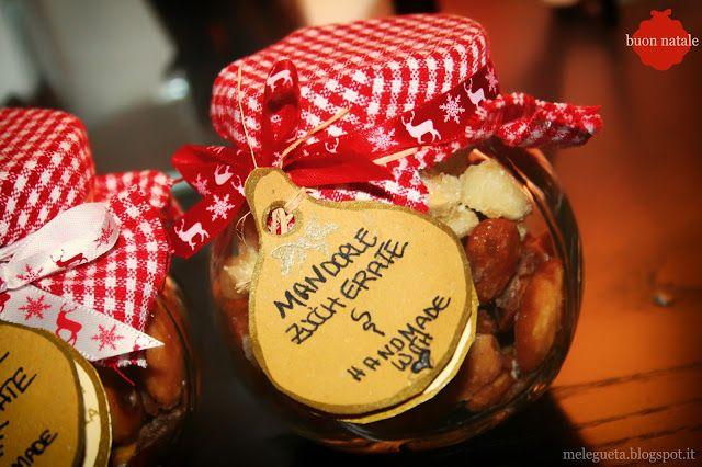 Melegueta...                      piccole ricette per un matrimonio (quasi) perfetto: Mandorle zuccherate all'arancia