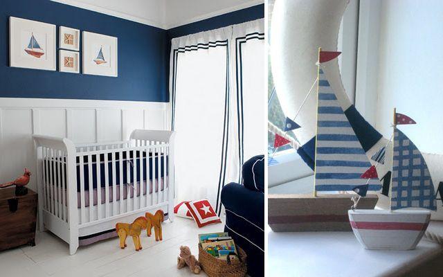 Decoraci n de casas con estilo marinero o navy - Decoracion estilo marinero ...