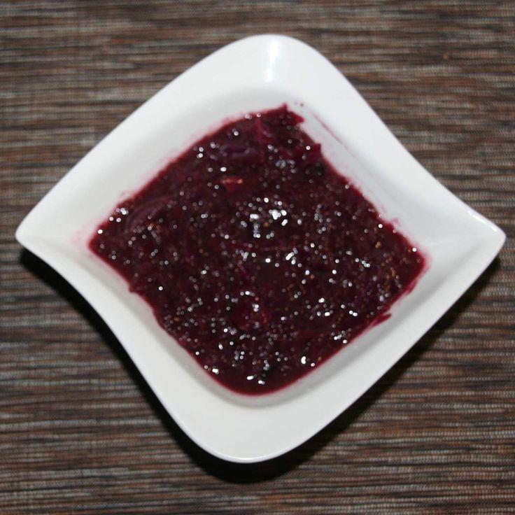 Rezept Weihnachtlicher Rotkohl von Sternchen2807 - Rezept der Kategorie Grundrezepte