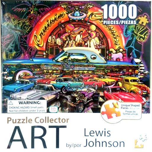 Cruisin Classic Colorluxe 1000 Piece Jigsaw Puzzle Christmas Gift FAST FREE Post