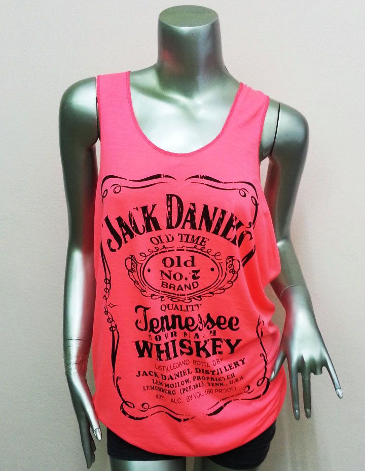 Jack Daniels Tennessee Whiskey T-Shirt Women shirt . $13.00, via Etsy.