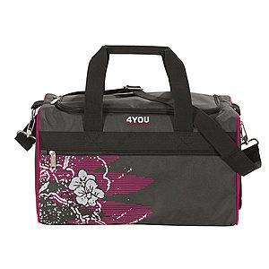 Sporttasche M 4You 229 Graphic Art ►► Bestellen Sie jetzt die passende Sporttasche von 4YOU zu dem 4YOU Schulrucksack dazu. So sichern Sie Ihrem Kind die gleiche hochwertige Qualität auch für den Weg zum Sportunterricht.   ☼ 24,00 € ☼